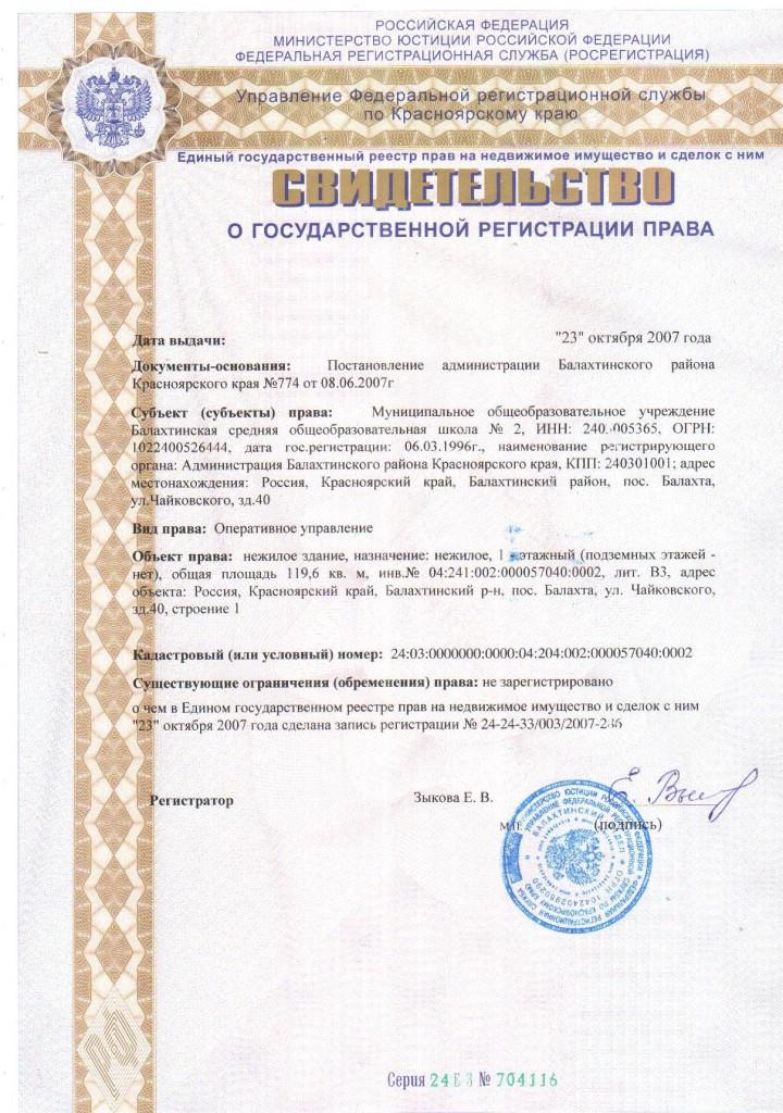 Свидет.о гос.регистрации права