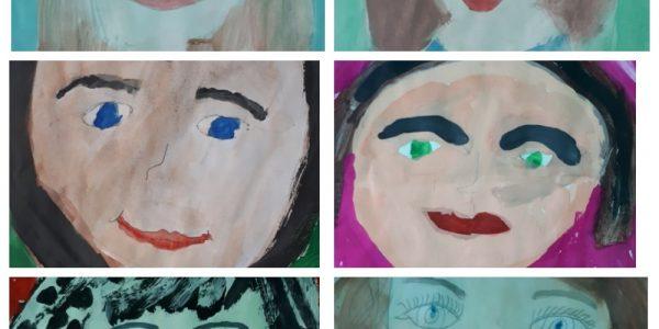 Выставка рисунков «Портрет в весенних тонах»